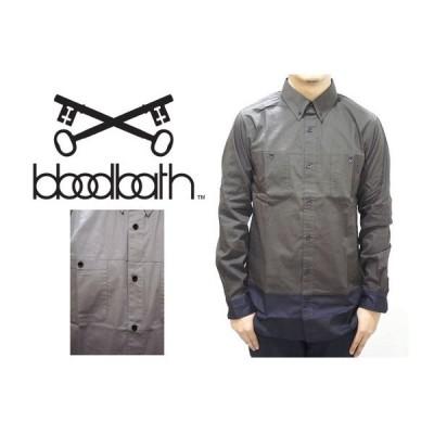 セール50%オフ BLOODBATH ブラッドバス CAIN L/S BUTTON DOWN SHIRT 長袖シャツ