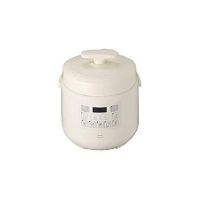 BRUNO 電気圧力鍋 時産家電 ほったらかし調理 新生活 マルチ圧力クッカー BOE058-IV(アイボリー)