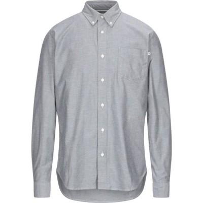 ティンバーランド TIMBERLAND メンズ シャツ トップス Solid Color Shirt Grey