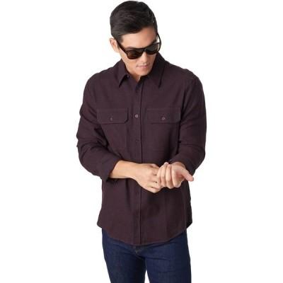 ストイック シャツ メンズ トップス Chambray Flannel Shirt - Men's Blackberry Wine