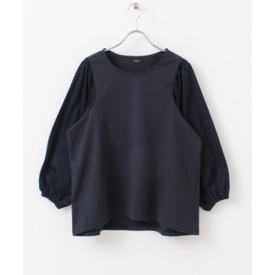 URBAN RESEARCH ROSSO WOMEN / 【WEB限定】ギャザーパフスリーブカットソー WOMEN トップス > Tシャツ/カットソー