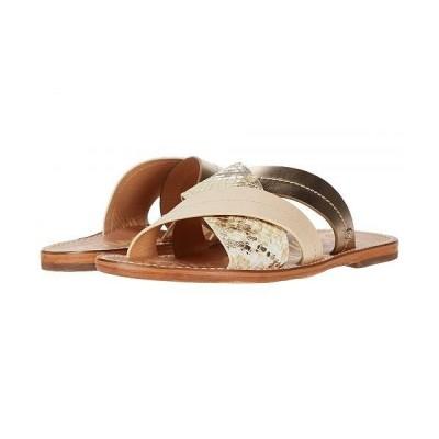 Sam Edelman サムエデルマン レディース 女性用 シューズ 靴 サンダル Maxine - Summer Sand Multi Matte Bahamas Snake Leather/Heavy Polished Met
