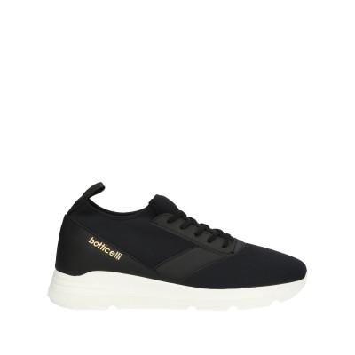 ROBERTO BOTTICELLI スニーカー&テニスシューズ(ローカット) ブラック 35 紡績繊維 スニーカー&テニスシューズ(ローカット)