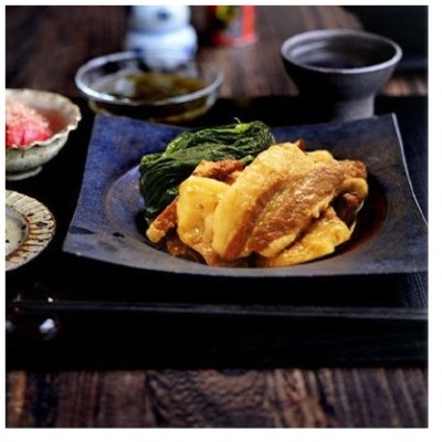 嘉手納町 ふるさと納税 黒豚角煮1.6kg(400g×4袋)