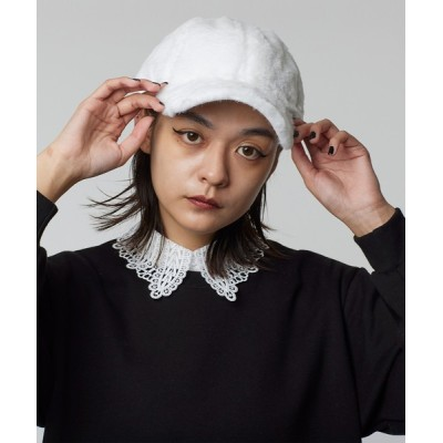 Narcissus / 【Narcissus】ファーキャップ WOMEN 帽子 > キャップ