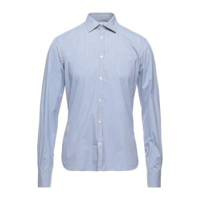 アリーニ AGLINI シャツ ダークブルー 39 コットン 72% / ナイロン 25% / ポリウレタン 3% シャツ
