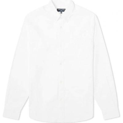 コム デ ギャルソン Comme des Garcons Homme メンズ シャツ トップス Embroidered Logo Oxford Shirt White