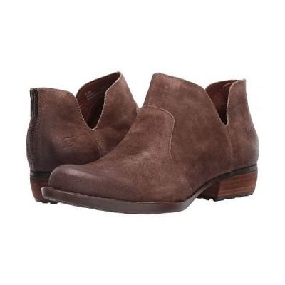 Born ボーン レディース 女性用 シューズ 靴 ブーツ アンクル ショートブーツ Kerri - Taupe Distressed