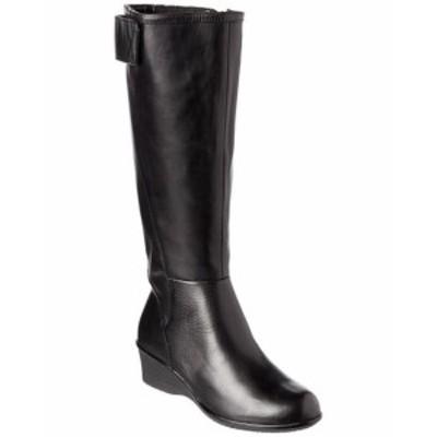 Taryn Rose タリンローズ ファッション シューズ Taryn Rose Abbie Tall Boot 5 Black