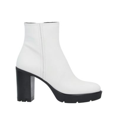 JANET SPORT ショートブーツ ホワイト 36 革 ショートブーツ