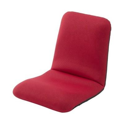 セルタン 和楽チェアM 腰楽座椅子 メッシュレッド A454-504RED