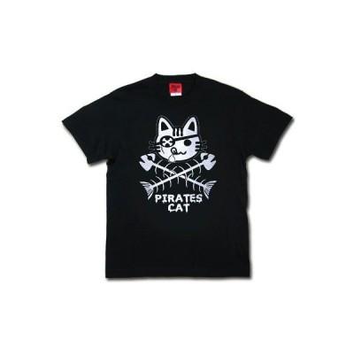 Tシャツ/メンズ/レディース/ネコ/海賊キャットTシャツ