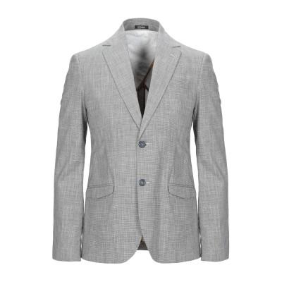 OFFICINA 36 テーラードジャケット グレー 44 コットン 91% / リネン 8% / ポリウレタン 1% テーラードジャケット