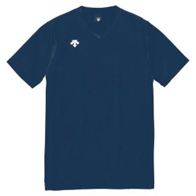 DESCENT(デサント)V首半袖ゲームシャツ(ユニセックス) DSS-4321 DSS4321-NVY ネイビー