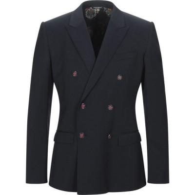 ドルチェ&ガッバーナ DOLCE & GABBANA メンズ スーツ・ジャケット アウター blazer Dark blue