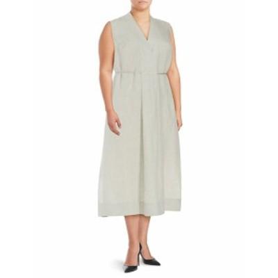 ラファイエット148ニューヨーク レディース ワンピース Tawny Sleeveless Tie Waist Dress