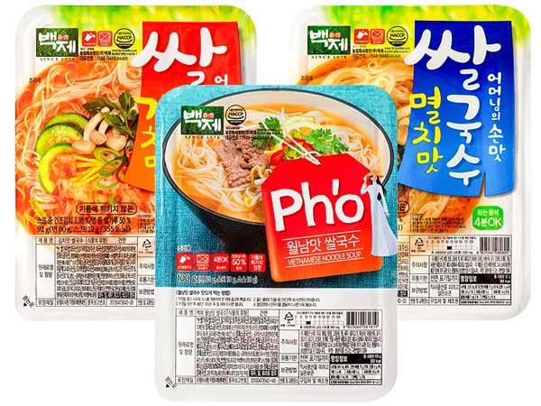 韓國 百濟米麵線(1入) 款式可選【D081819】