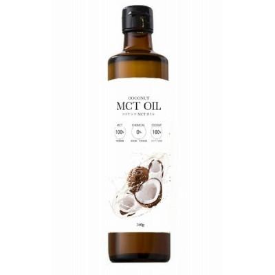 フラット・クラフト MCTオイル 360g     【ココナッツ由来100% 中鎖脂肪酸 中鎖脂肪酸率100% 添加物不使用】