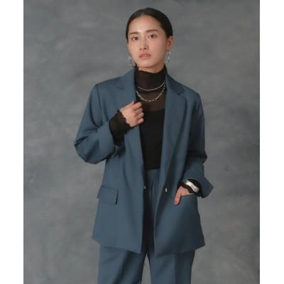 AULI / 【低身長向けサイズ】ロングテーラードジャケット WOMEN ジャケット/アウター > テーラードジャケット