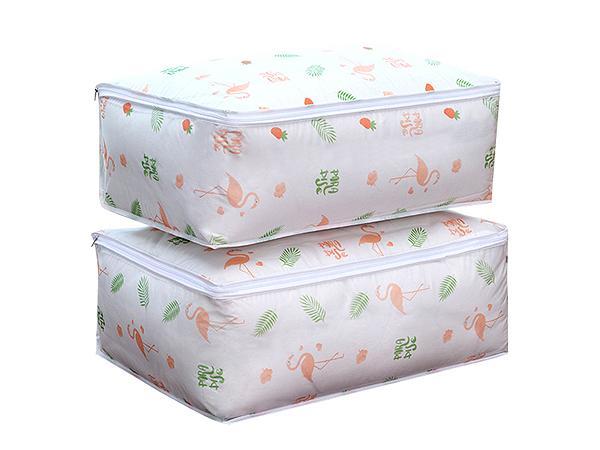 清新印花棉被/衣物收納防塵袋(1入)【D011595】款式隨機出貨