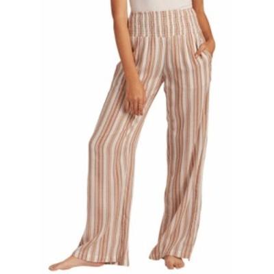 ビラボン レディース カジュアルパンツ ボトムス New Waves Striped Pants Salt Crystal