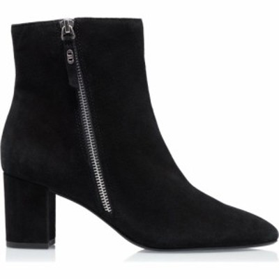 デューン Dune London レディース ブーツ ショートブーツ シューズ・靴 Oricle Side Zip Block Heel Ankle Boots Black