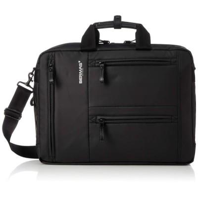 [バーマス] ビジネスバック3way アルスフェルト A4サイズ対応 1気室 60350-10 ブラック