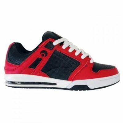 オサイラス Osiris メンズ スケートボード スニーカー シューズ・靴 PXL Trainers Black/Red