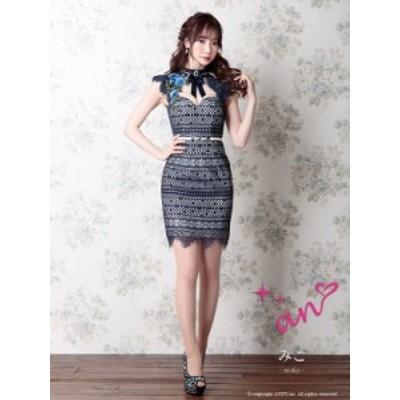 an ドレス AOC-3049 ワンピース ミニドレス Andyドレス アンドレス キャバクラ キャバ ドレス キャバドレス