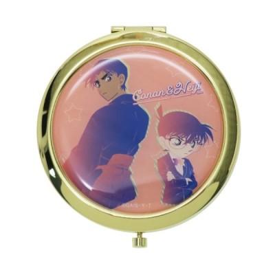 名探偵コナン 手鏡 W コンパクトミラー コナン & 平次 マリモクラフト ルミエシリーズ ギフト雑貨
