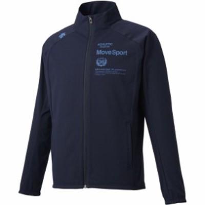 グリッドクロス スタンドジャケッ descente デサント マルチSPトレーニングシャツ M (dmmqjf15-nv)