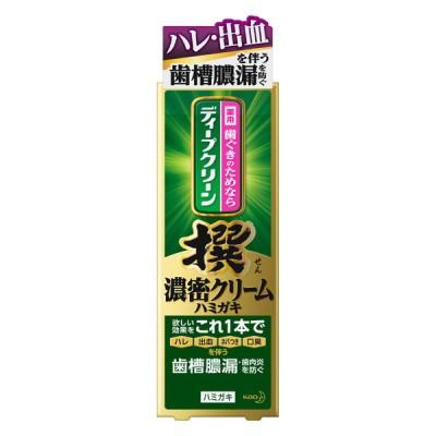 花王ディープグリーン撰濃密クリーム薬用ハミガキ100g