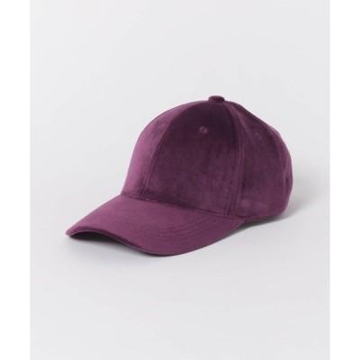 帽子 キャップ ベロアCAP∴