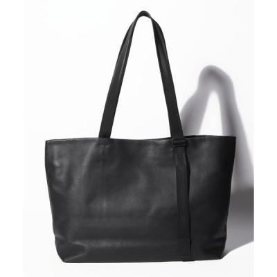 【パトリックステファン】Leather tote wide 'adjustable shoulder'