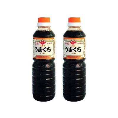 【 ニビシ醤油 】 特級うまくち 500ml ×2本