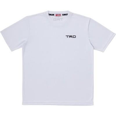 ドライ Tシャツ サイズM ホワイト MS042-00004 TRD