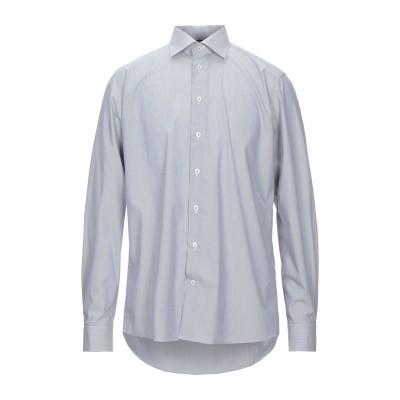 ETON シャツ スチールグレー 39 コットン 100% シャツ