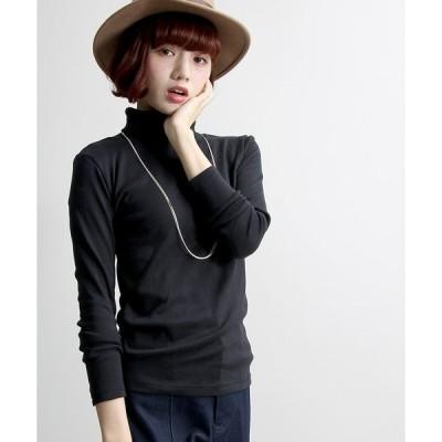 【ウィゴー】ハイネックTシャツ