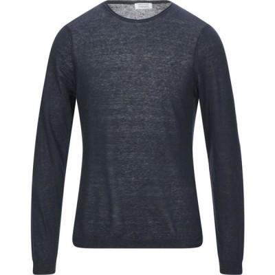 ヘリテイジ HERITAGE メンズ ニット・セーター トップス Sweater Dark blue