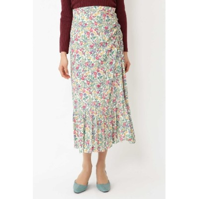 JILLSTUART (ジルスチュアート) レディース ◆キャンディス小花柄ギャザースカート OFF WHITE(030) 4