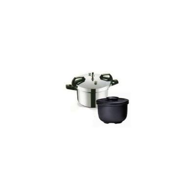 平和圧力鍋 PCD-10W+新・特選カムカム鍋II8Wセット 鋳物屋
