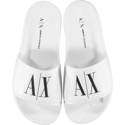 アルマーニ Armani Exchange レディース サンダル・ミュール シャワーサンダル シューズ・靴 PV Sliders