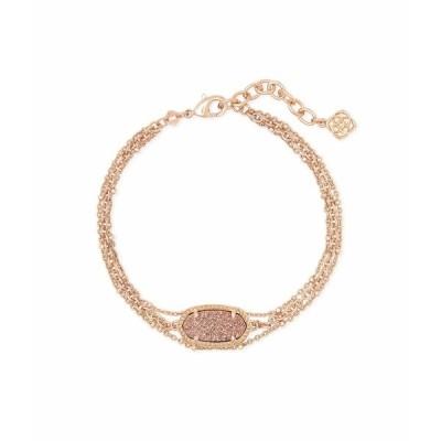ケンドラスコット ブレスレット・バングル・アンクレット アクセサリー レディース Elaina Multi Strand Bracelet Rose Gold Drusy