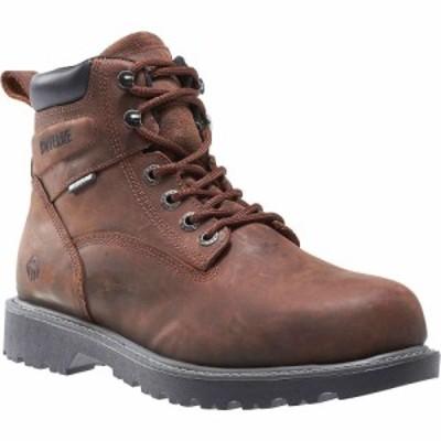 ウルヴァリン Wolverine メンズ ブーツ シューズ・靴 Floorhand Steel -Toe Boot Dark Brown