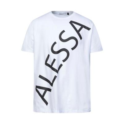 アレッサンドロデラクア ALESSANDRO DELL'ACQUA T シャツ ホワイト S コットン 100% T シャツ
