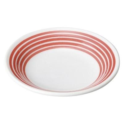 和食 小皿 / 赤絵駒筋リム3.3皿 寸法: 10.2 x 2cm 85g