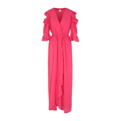 ピンコ PINKO ロングワンピース&ドレス ガーネット 44 ポリエステル 100% ロングワンピース&ドレス