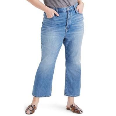 メイドウェル デニム ボトムス レディース Rigid High Waist Slim Demi Boot Jeans Banter