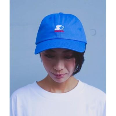 LB/S / 【STARTER/スターター】ロゴ刺繍ツイルローキャップ MEN 帽子 > キャップ