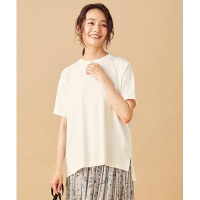 any SiS/エニィスィス スーピマコットンスムース Tシャツ オフホワイト 2